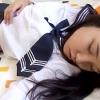 【個人撮影】出会い系アプリで捕獲したJKを睡眠薬で眠らせ無許可中出し・・悪質ハメ師