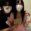 【個人撮影】ヤリ部屋円光で中出しされAV出演を決意した素人女子大生の円光初撮り動画