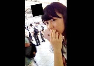 ピンクの時計 【OL狙いうちめくり】奥義スカートめくりパンチラ part26