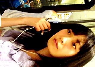 いたずらっ子し隊 ❤美味しいパスタを食べにきた超美少女❤に、逆さ撮りからの声かけ❤二の腕❤タッチ❤