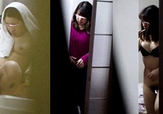 手が震えるほどの興奮!アリス似美人JDが、鏡の前でアソコをおっぴろげ!!