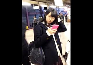 ピンクの時計 part35【前髪パッツンマスクちゃんとの再会。バレもあり!】奥義スカートめくりパンチラ