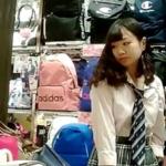 ☆プルート☆ 【高画質】制服白パン逆さ撮りNo2
