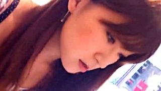 Hamans Worldアパレル店員胸チラ盗撮動画