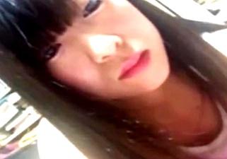 JKがエロイプで乳見せしたスマホ動画