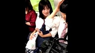 黒髪清楚な美少女JKちゃんのパンチラ盗撮