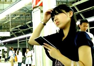 ふくろう めくり撮りパンチラ part26-2 お姉さんの黒スト編2