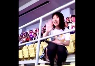 くまちゃんことSKE48の熊崎晴香のお宝パンチラ