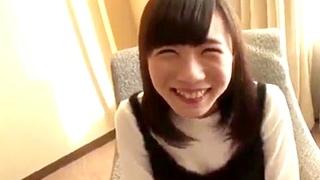 受験を控えるスレンダーボディの現役女子高生と円光ハメ撮り