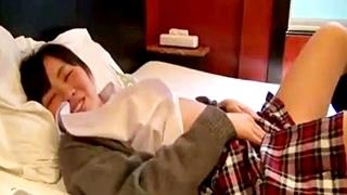 美少女JKとホテルでガチ円光