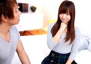 元アイドルで芸能人の三上悠亜(鬼頭桃菜)がデビュー作でしみけんとせっくすするフル版