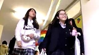 高校の文化祭パンチラ