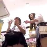 音声入りのJKパンチラエロ動画