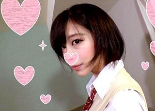 面接で騙した超美少女JKを着エロ撮影