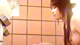 パイパン美少女の女子風呂盗撮動画