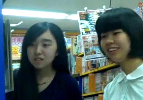某掲示板に投稿されたオリジナルパンチラ動画が流出!地味芋系と美少女中●生の3人分のおぱんつが収録されたヤバいやつ