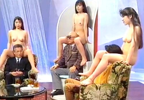 【エロ注意】昭和のテレビ番組が完全にイカれた映像を垂れ流している件www