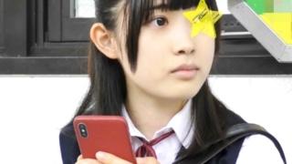 乃木坂系アイドル顔美少女JKに電車で肉棒ねじ込む痴漢師!容赦なく中出しまでしててひでぇ・・・