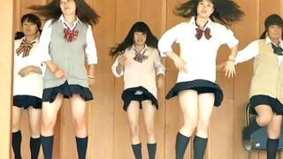 何者かが某高校の美少女ダンス部JKのパンチラまとめ動画を作成した模様www