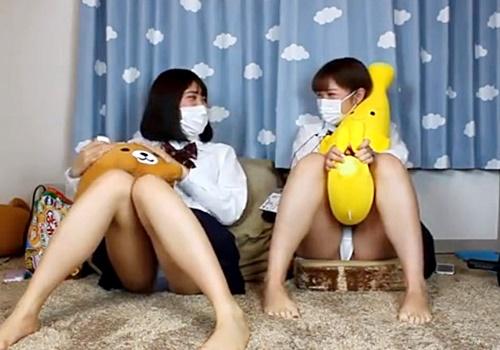 【ライブチャット】ネット配信版のJK見学倶楽部がエロすぎてヌイタ