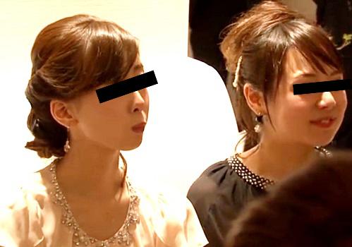 結婚式会場、美女たちのパンチラ撮り放題だった・・・(動画アリ)