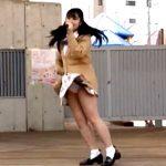 【お宝】制服ライブのローカルアイドル、見せパン履き忘れて純白P丸見え