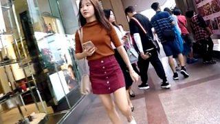 台湾行った時にクッソ可愛い女の子のパンチラ撮影したから期間限定で晒す