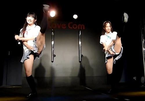 現役女子高生の地下アイドルさん、オタクにハイキックパンチラの大サービスwww(動画あり)