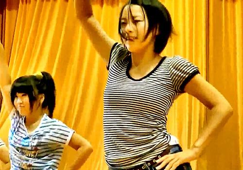 3万人が抜いたダンス部JK(巨乳)の伝説の乳揺れ動画、流出していたwwww