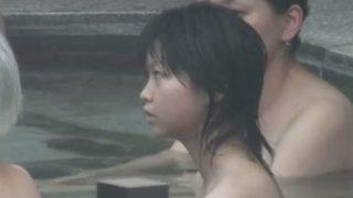 Aquarium 高画質露天風呂盗撮 乙女の湯 其の12