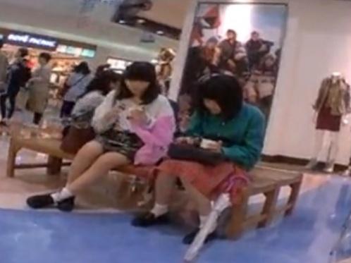 【動画】こういう私服JCの純白綿ぱんつwwwwwww