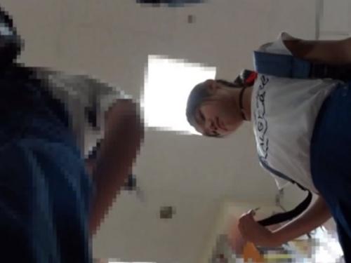 【盗撮動画】パンチラ職人さん、禁断のJSCの炉ぱんつに手を出す・・ヤバすぎィィ!!
