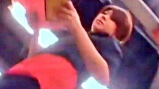 【動画】パチンカス「負けた腹いせにコーヒーレディのパンチラ盗撮してきたったww」