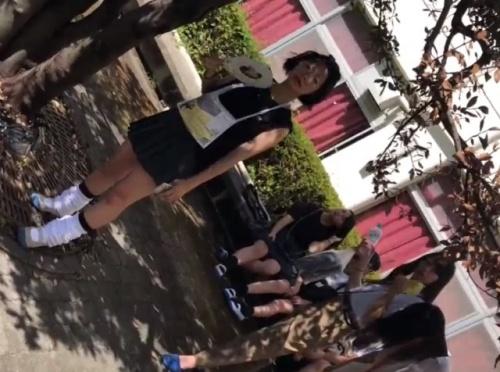 文化祭専門撮り師の校内潜入パンチラ盗撮動画、どう見てもガチにしか見えない