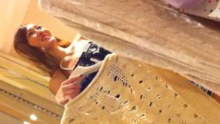 女性向けのアパレルショップで上玉店員や女性客のパンチラを盗撮しまくる猛者が登場ww(動画あり)