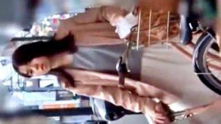 パンチラ撮り師に数日間に渡って粘着されてるJDちゃん、動画を晒される